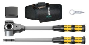 "Wera 05133862001 8002C 4 Piece Koloss 1/2"" Drive Ratchet Set With Accessories"